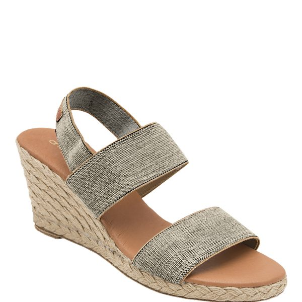 Andre Assou Allison Espadrille Wedge with Elastic Band with Backstrap| Ooh Ooh Shoes woman's clothing & shoe boutique naples, charleston and mashpee
