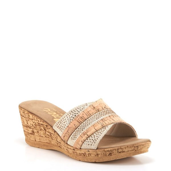Onex Blanche Cork Wedge| Ooh! Ooh! Shoes women's clothing & shoe boutique naples, charleston and mashpee