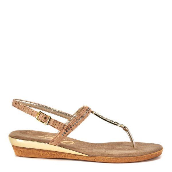 Onex Cabo Jeweled Thong Style Flat Sandal | Ooh! Ooh! Shoes women's clothing & shoe boutique naples, charleston and mashpee