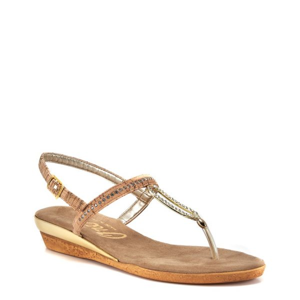 Onex Cabo Jeweled Thong Style Flat Sandal | Ooh! Ooh! Shoes women's clothing & shoe boutique naples, charleston and mashpee