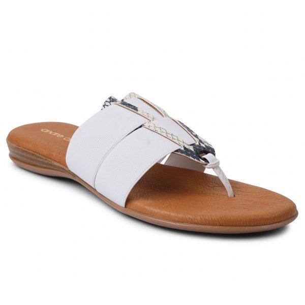 Andre Assous Elise Sandal| Ooh Ooh Shoes woman's clothing and shoe boutique naples, charleston and mashpee.
