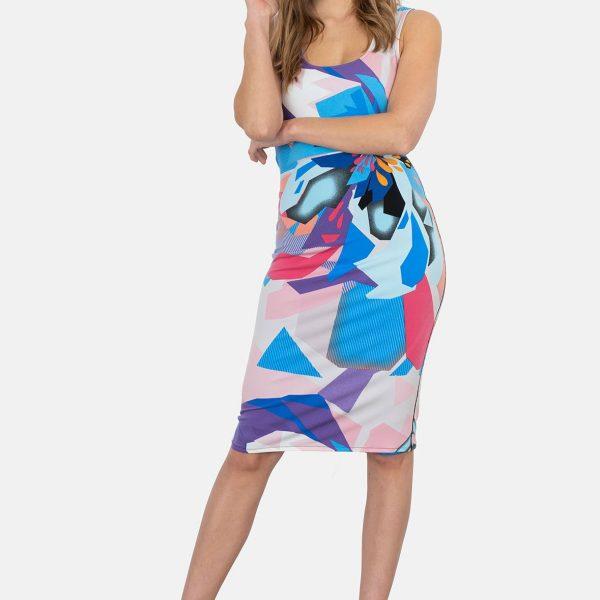 Eva Varro D12520 Sleeveless Dress| Ooh Ooh Shoes women's clothing and shoe boutique naples, charleston and mashpee