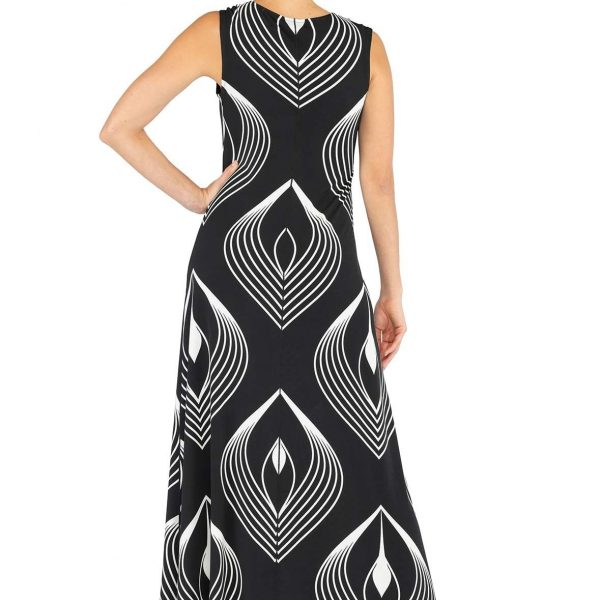 Eva Varro D12898C Sleeveless Maxi Dress| Ooh Ooh Shoes women's clothing and shoe boutique naples, charleston and mashpee