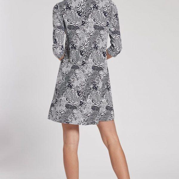 Alexa Animal Print Dress| Ooh Ooh Shoes woman's clothing and shoe boutique naples, charleston and mashpee
