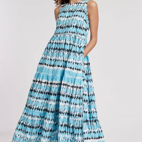 Tyler Boe Rachel Tie Dye Maxi Dress| Ooh! Ooh! Shoes women's clothing & shoe boutique naples, charleston and mashpee