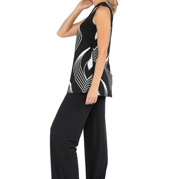 Eva Varro T12718NB Sleeveless Top| Ooh Ooh Shoes Women's clothing and shoe boutique naples, charleston and mashpee