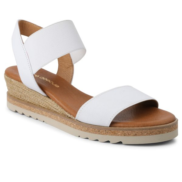 Andre Assous Neveah Sandal| Ooh Ooh Shoes woman's clothing and shoe boutique naples, charleston and mashpee
