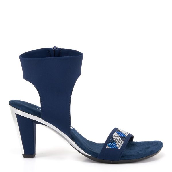 Onex Saphire Elastic upper with side zipper.| Ooh Ooh Shoes woman's clothing & shoe boutique naples, charleston and mashpee