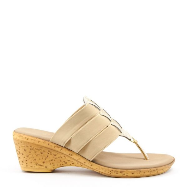 Onex Shana is a strappy sandal with shimmer accented cutouts | Ooh! Ooh! Shoes women's clothing & shoe boutique naples, charleston and mashpee