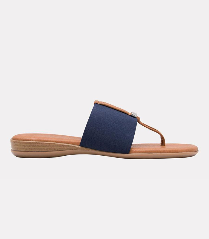 Andre Assous Nice Women's Shoe Thong Style Flat Sandal   Ooh! Ooh! Shoes Women's Shoes and Clothing Boutique Naples, Charleston and Mashpee