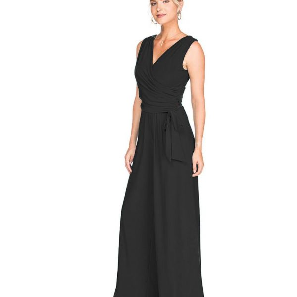 Last Tango MS522 Jumpsuit Women's Jumpsuit in Black | Ooh! Shoes Women's Shoes and Clothing Boutique Naples, Charleston and Mashpee
