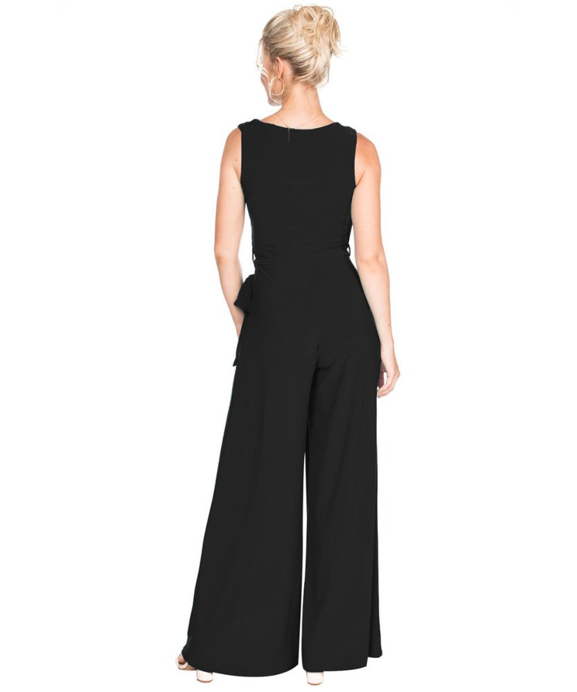Last Tango MS522 Jumpsuit Women's Jumpsuit in Royal Black   Ooh! Shoes Women's Shoes and Clothing Boutique Naples, Charleston and Mashpee