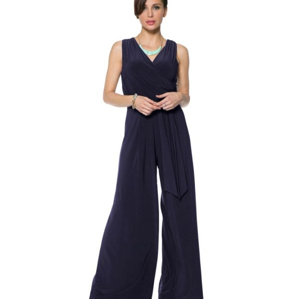 Last Tango MS522 Jumpsuit Women's Jumpsuit in Navy | Ooh! Shoes Women's Shoes and Clothing Boutique Naples, Charleston and Mashpee