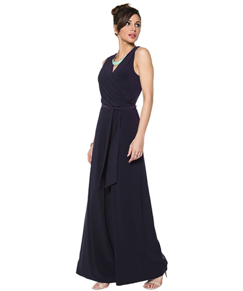 Last Tango MS522 Jumpsuit Women's Jumpsuit in Navy   Ooh! Shoes Women's Shoes and Clothing Boutique Naples, Charleston and Mashpee