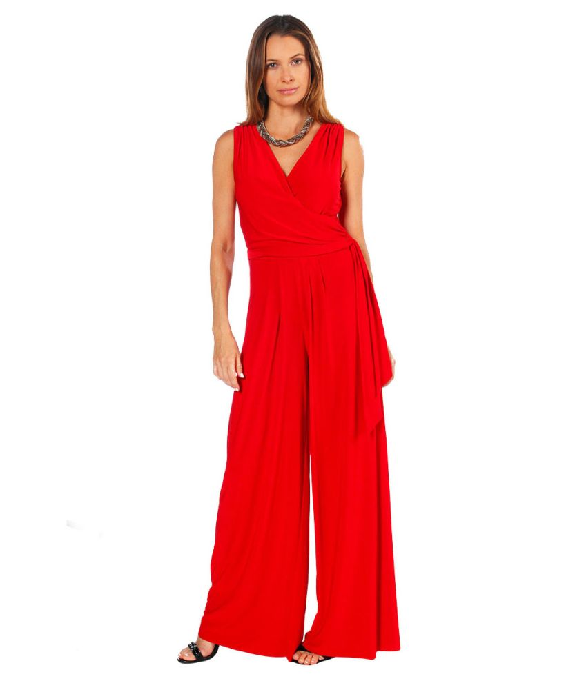 Last Tango MS522 Jumpsuit Women's Jumpsuit in Red   Ooh! Shoes Women's Shoes and Clothing Boutique Naples, Charleston and Mashpee