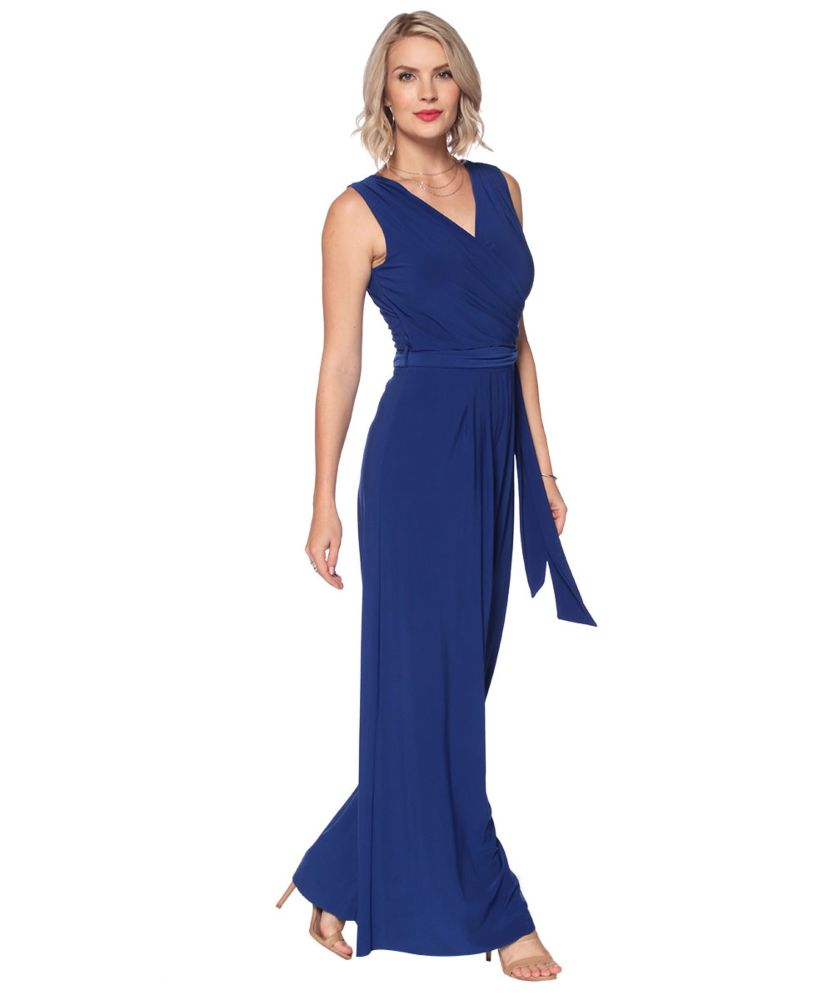 Last Tango MS522 Jumpsuit Women's Jumpsuit in Royal Blue   Ooh! Shoes Women's Shoes and Clothing Boutique Naples, Charleston and Mashpee