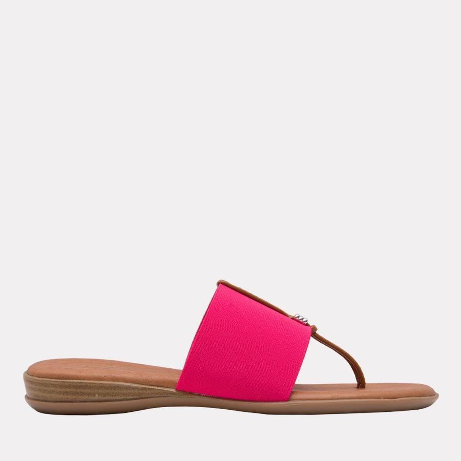 Andre Assous Nice Women's Sandal Thong Style, Leather Foot Bed in Fuchsia   Ooh! Shoes Women's Shoes and Clothing Boutique Naples, Charleston and Mashpee