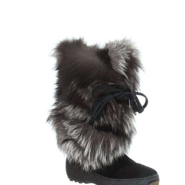 Pajar Foxtrot Black/Silver Fox Women's Boot | Ooh! Ooh! Shoes Women's Shoes and Clothing Boutique Naples, Charleston and Mashpee