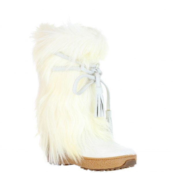 Pajar Scarlet White Cow/Goat Hair Boot Women's Boot | Ooh! Ooh! Shoes Women's Shoes and Clothing Boutique Naples, Charleston and Mashpee